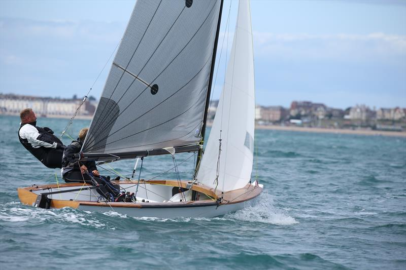 Sam Barker and Mikey Greig leading the Ospreys at the National championships in Weymouth